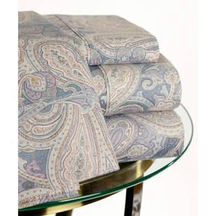 200 Thread Count Paisley Sheet Set