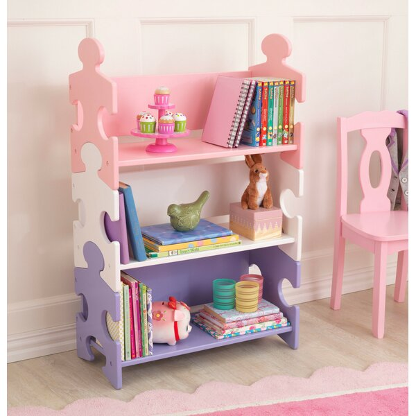 Kidkraft Puzzle Bookshelf Amp Reviews Wayfair Co Uk