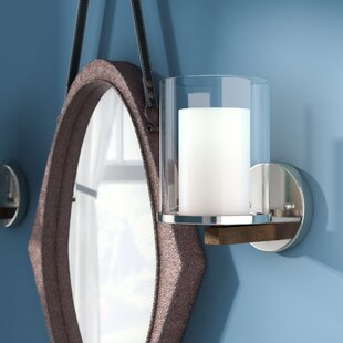 Rohrbaugh 1-Light Armed Sconces by Laurel Foundry Modern Farmhouse