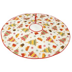 Decorative Christmas Design Tree Skirt
