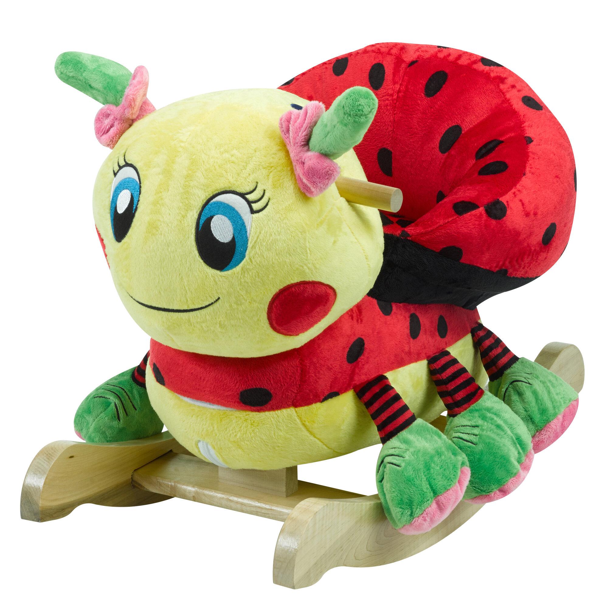 Rockabye Lulu Ladybug Rocker   Reviews  572da2795d28