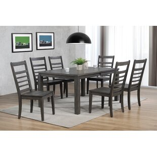 Morin 7 Piece Dining Set Canora Grey