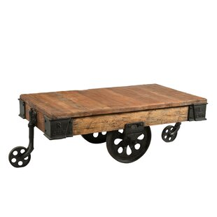 Jai Trolley Coffee Table By Williston Forge