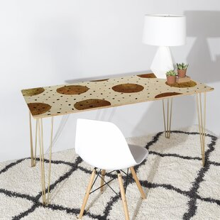 Georgiana Paraschiv Mixed Dots Desk by Deny Designs Best Design