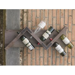 Roucourt Display Hold 6 Bottle Wall Mounted Wine Rack By Brambly Cottage