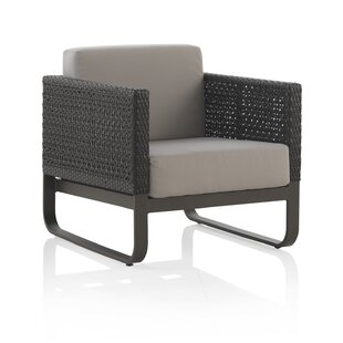 Holmberg Aluminum And Synthetic Fibre Chair With Cushions By Sol 72 Outdoor