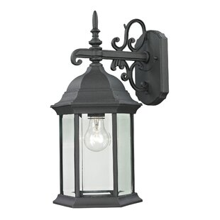 Check Prices Dipaolo 1-Light Outdoor Wall Lantern By Charlton Home