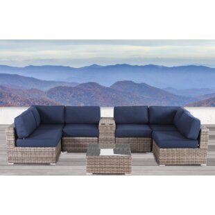Lue 8 Piece Sunbrella Sectional Set With Cushions by Longshore Tides Read Reviews