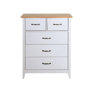 Highland 5 Drawer Chest Of Drawers By August Grove