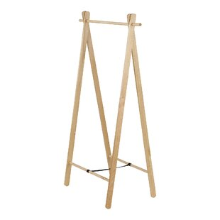 Copes Wooden Coat Rack By Beachcrest Home