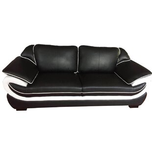 Loraine Genuine Leather 3 Seater Sofa By Metro Lane