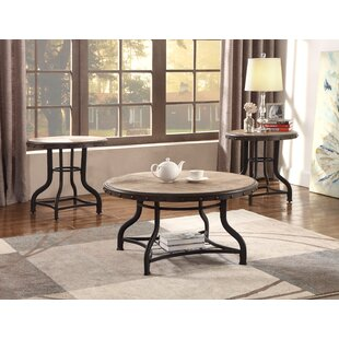 Best Reviews Kenneth 3 Piece Coffee Table Set By Crown Mark