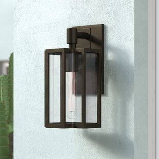 Compare & Buy Dwana 1-Light Outdoor Wall lantern By 17 Stories