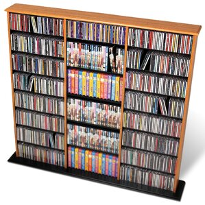 Deliah Triple Width Multimedia Storage Rack by Red Barrel Studio
