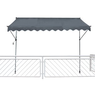 W 2m X D 1.2m Retractable Patio Cover Awning By Sol 72 Outdoor