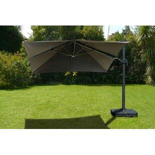 Gemmenne 10' X 10' Square Cantilever Umbrella by Beachcrest Home