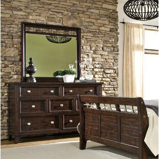 Haven 9 Drawer Double Dresser with Mirror
