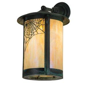 Yarber Outdoor Wall Lantern by Loon Peak