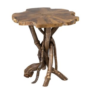 Union Rustic Lohr End Table