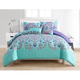 Greber Reversible Comforter Set by Harriet Bee