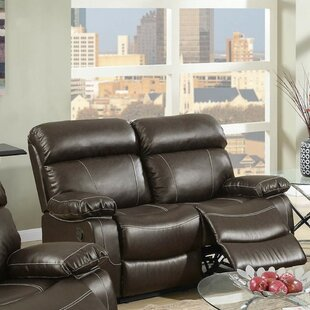 Best Price Roush Reclining Loveseat by Charlton Home Reviews (2019) & Buyer's Guide
