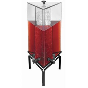 4.2 Gal 2 Spigot Beverage Dispenser
