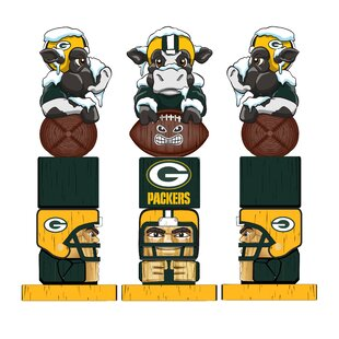 NFL Green Bay Packer Tiki Totem Figurine by Evergreen Enterprises, Inc