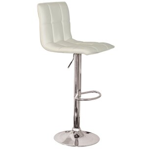 Read Reviews Madyson Adjustable Height Swivel Bar Stool (Set of 2) by Orren Ellis Reviews (2019) & Buyer's Guide