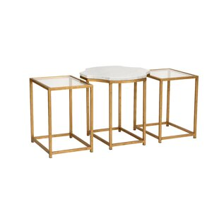 Medallion 3 Piece Nesting Tables