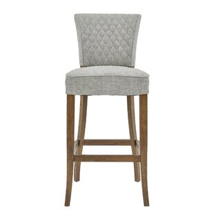 Stribling Quilted 31 Bar Stool
