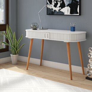 Vandeusen Wood Writing Desk by George Oliver Modern