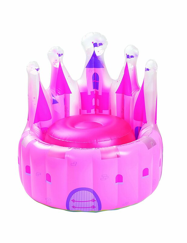 Frazier Castle Princess Kids Inflatable Chair For Kids Girls