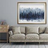 'Indigo Forest' - Print on Canvas