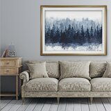 « Indigo Forest » - reproduction sur toile
