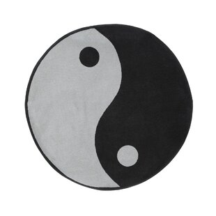 Read Reviews Fun Shape High Pile Ying Yang Area Rug By Fun Rugs