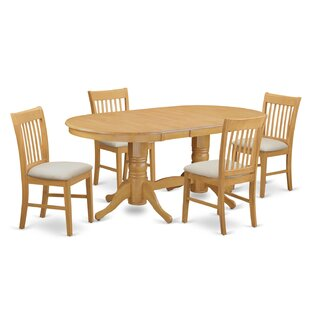 Rockdale 5 Piece Dining Set DarHome Co
