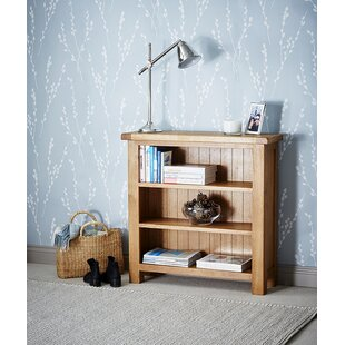 Cardalea Low Wide 90cm Bookcase By Union Rustic