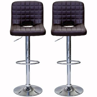 Powley Adjustable Height Swivel Bar Stool..