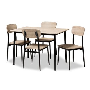 Wiggs 5 Piece Dining Set