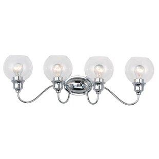 Charlton Home Hunley 4-Light Vanity Light