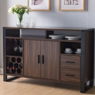 Chaires Simplistic Buffet Table with Efficient Storage Option by Brayden Studio