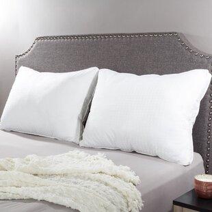 Alwyn Home Amabel Adjustable Loft Medium Polyester/Polyfill Jumbo Pillow (Set of 2)