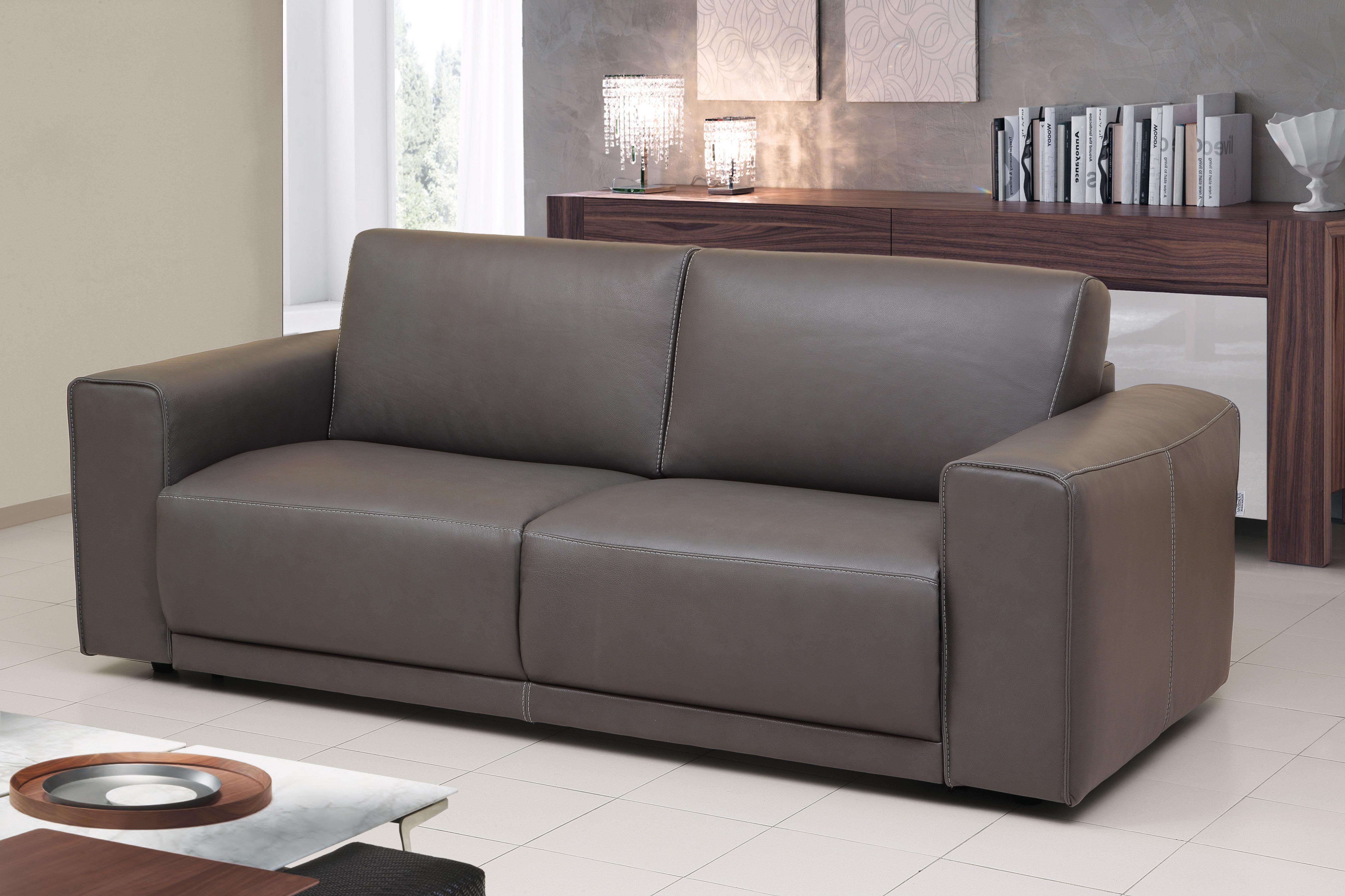 Etonnant Rowley Genuine Leather Sofa Bed Sleeper
