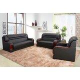Walberg 3 Piece Living Room Set by Red Barrel Studio®