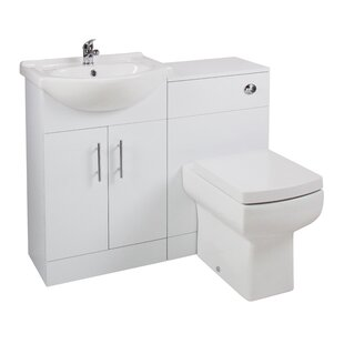 Alfred 550 Series Combi Pack Vanity Unit Cloakroom Suite By Mercury Row