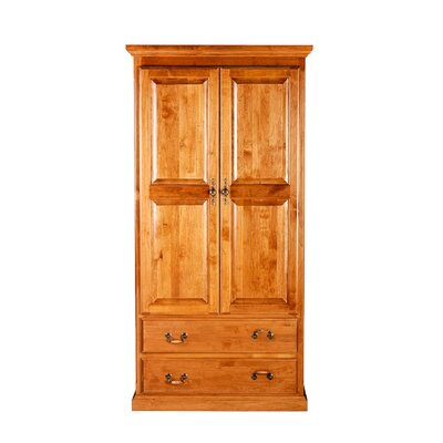 Hough Armoire Loon Peak Color: Red Oak