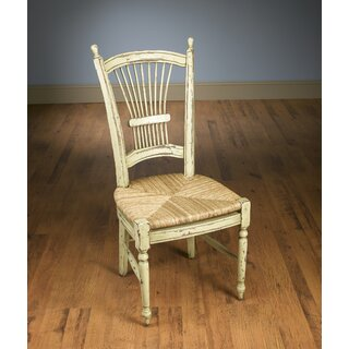 Wheat Back Side Solid Wood Dining Chair by AA Importing SKU:AD618615 Order