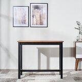 Michiana Extendable Rubberwood Solid Wood Dining Table by Ebern Designs