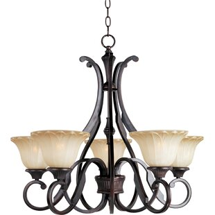 Darby Home Co Altitude 5-Light Shaded Chandelier