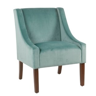 Dietrich Fabric Upholstered Swooped Side Chair